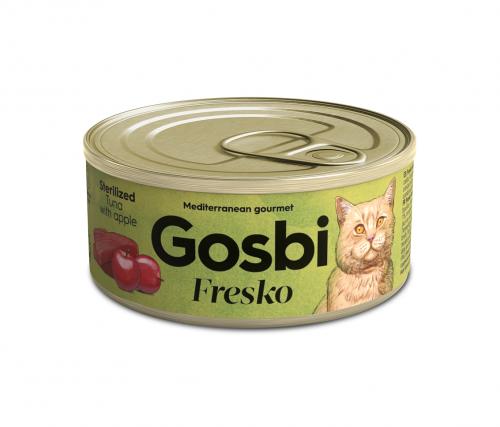 FRESKO CAT STERILIZED TUNA WITH APPLE