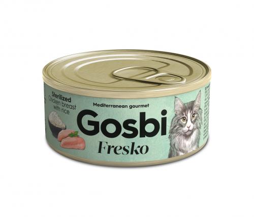 FRESKO CAT STERILIZED CHICKEN BREAST WITH RICE