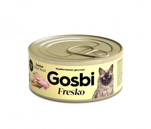 FRESKO CAT MEAT FEAST SENIOR