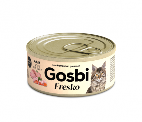 FRESKO CAT TURKEY & HAM