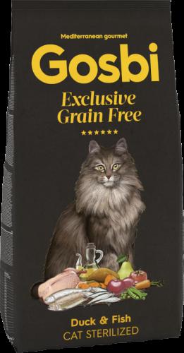 GOSBI CAT EXCLUSIVE GRAIN FREE STERILIZED DUCK & FISH